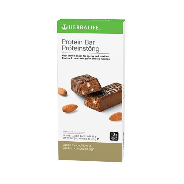 Protein Bars Vanilla Almond 14 bars per box