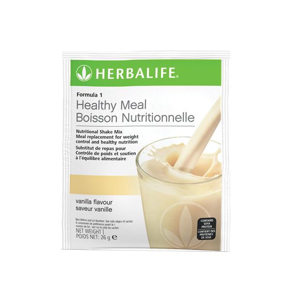 Formula 1 Nutritional Shake Mix Sachets Vanilla Pack of 7 sachets