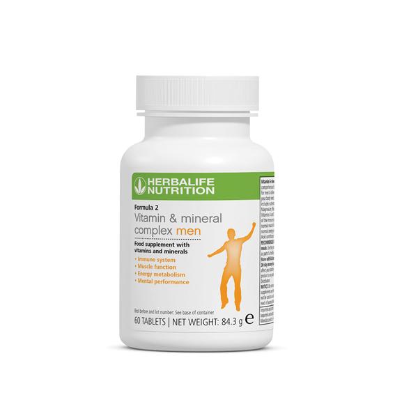 Formula 2 - Vitamin & Mineral Complex Men's 60 tablets