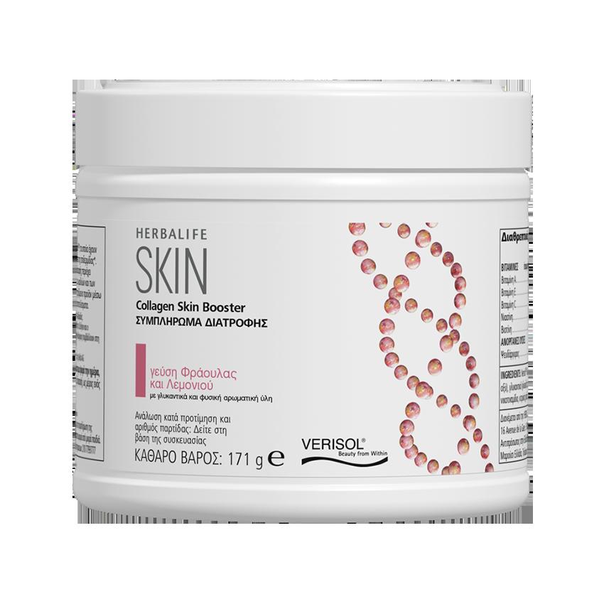 Collagen SKIN Booster Φράουλα και Λεμόνι 171 γρ.