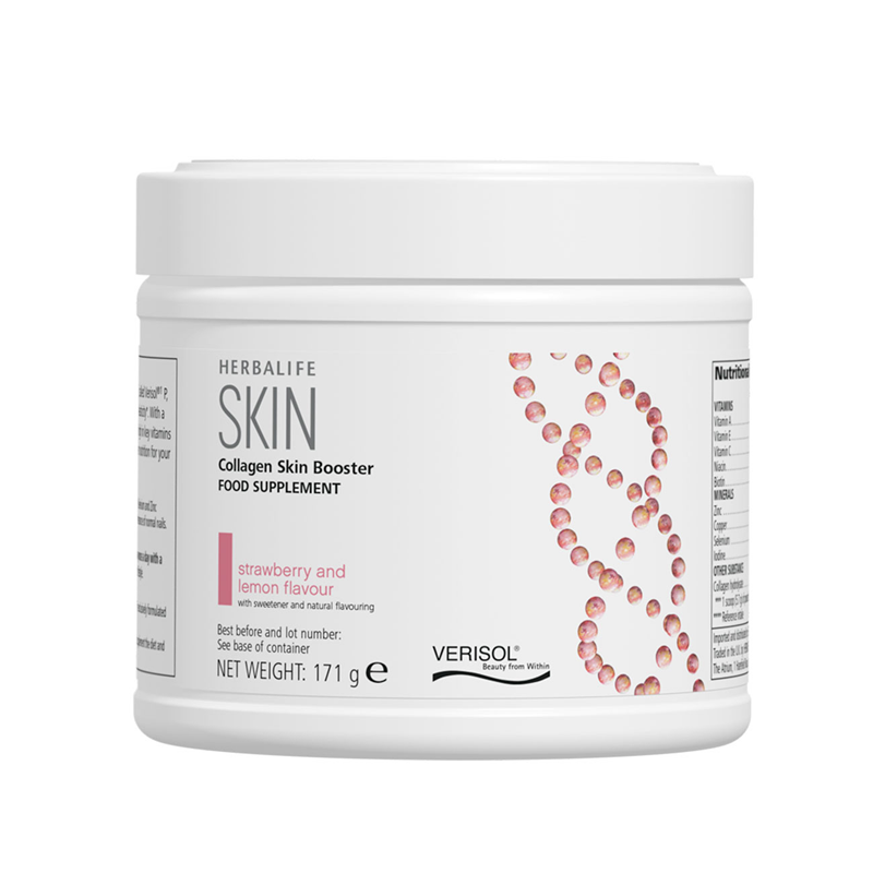 Collagen SKIN Booster strawberry and lemon 171 g
